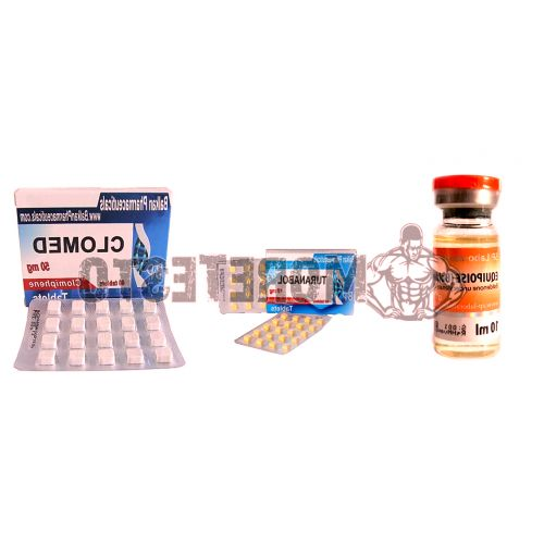 Course Turinabol + Boldenone (for drying)