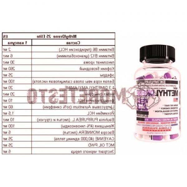 Fat burner MethylDrene-25 Elite